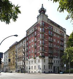 CASA DI VIA DOMENICHINO (1928-29) _ Gio Ponti, Milano