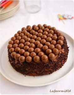 Gâteau au chocolat Cyril Lignac et Maltesers