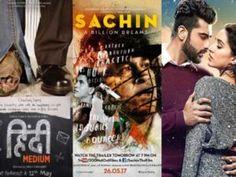 Sachin: A Billion Dreams has a good start while Hindi Medium and Half Girlfriend are okay