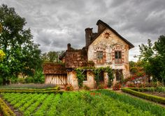 A small old french farm house.