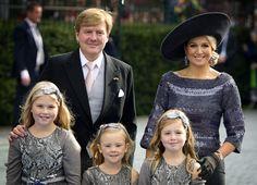 Queen Maxima, King Willem Alexander and Princess Beatrix attend the wedding of Prince Jaime of Bourbon-Parma and Viktoria Cservenyak - Photo 2   Celebrity news in hellomagazine.com