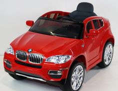 UNDER LICENSED BMW X-6 NEW POWER RIDE ON TOY ELECTRIC CAR WITH MP3 CONNECTION AND OPEN DOORS , REMOTE CONTROL.