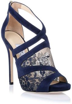 cool ShopSavannahs - Jimmy Choo Vantage navy lace sandal - Fashion by http://www.redfashiontrends.us/fashion-designers/shopsavannahs-jimmy-choo-vantage-navy-lace-sandal-fashion/