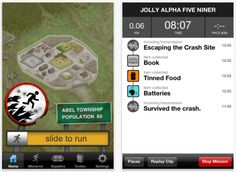 Zombies, Run!  Great app!  I'm a beginner and this helped me run longer!