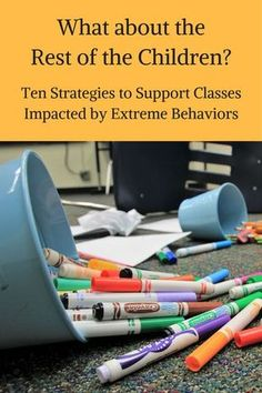 When a child has extreme behaviors a lot of time, energy, and staff support goes. When a child has extreme behaviors a lot of time, . Classroom Behavior Management, Kids Behavior, Class Management, Anger Management, Classroom Behaviour, Behavior Board, Behavior Plans, Student Behavior, Behavior Charts