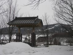 This roadside shrine/temple (it was a bit bigger than most shrines but much smaller than most temples) was a notable exc...