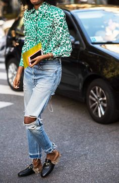 Love this unexpected summer color.