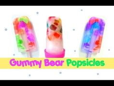 Gummy Bear Jelly Bean Popsicles! - YouTube