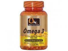 Ômega 3 180 Softgels - OH2 Nutrition com as melhores condições você encontra no Magazine Lopesmarinho. Confira!
