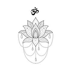 Search inspiration for a Blackwork tattoo. Mandala Tattoo Design, Mandala Arm Tattoo, Tattoo Designs, Lotus Mandala Design, Lotus Design, Little Tattoos, Mini Tattoos, Love Tattoos, Small Tattoos