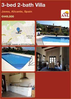 3-bed 2-bath Villa in Javea, Alicante, Spain ►€449,000 #PropertyForSaleInSpain
