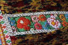 Panels of beadwork on traditional Visna apron skirt.