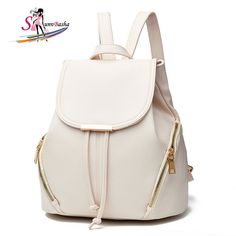 Promotion price 2017 Spring & Summer Women Leisure Pu Leather Bag Mochila Feminina School Bags Teenagers Laptop Notebook Backpack Free Shipping just only $18.17 with free shipping worldwide #backpacksformen Plese click on picture to see our special price for you