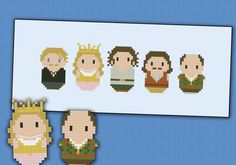 The Princess Bride - Cross stitch PDF pattern