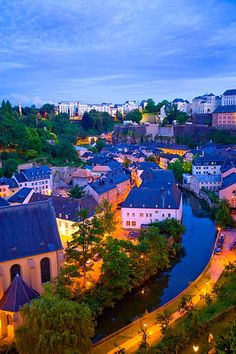 Luxembourg City.**