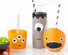 Craft Painting - DIYHalloween Monster Glass Set