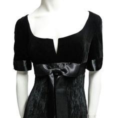 Isabelle Allard late 80s Delphos Dress. Fashion Archives Lerario Lapadula  #velvet #art #gown #amazing #hautecouture #vintage #fashion