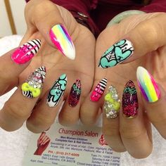 Easy Colorful Nails Summer 2014 imgfa69a72a71f509aca