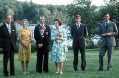 Pin for Later: The Royal Family's Travel Album Canada The Royal family went to Bromont, Canada, for the 1976 Olympics.