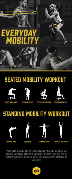 Hack Your Mobility Training With These 3 Tips Health and Fitness Pics of the day. Visit my store for more great health and fitness products. Fitness Tips, Fitness Motivation, Health Fitness, Health Club, Fitness Products, Fitness Quotes, Gym Workouts, At Home Workouts, Fitness Exercises