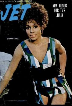 Diahann Carroll on the cover of Jet magazine, March 1971