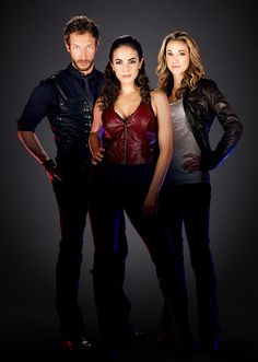 Lost Girl | Bo, Dyson and Lauren = Bo can't pick... neither could I. I'm Team Lauren AND Team Dyson...