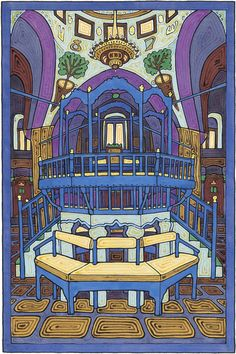 This is an amazing place: The Abuhav Synagogue is one of the most beautiful ancient synagogues in Tzfat / Zefat / Safed / Tsfat <3 <3 <3 <3
