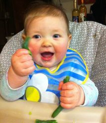 Baby-Led Weaning.  My change of heart in the art of introducing solids.