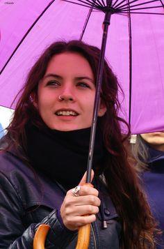 Camila Vallejo, Paraguazo por la educación. by Alejandro Bonilla, via Flickr