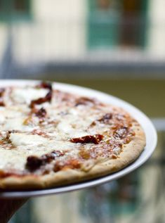 Pizza - alapanyag cserével, cukrot kihagyva