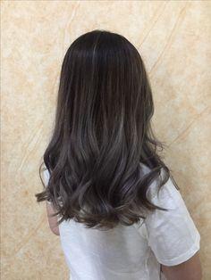 Grey hair balayage  #grey #hair #balayage #ombre