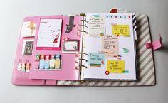 My Kikki K Personal Planner Setup. Setting up my pink textured leather kikki k personal planner - Design Is Yay ! Personal Planners, Day Planners, Planner Layout, Life Planner, Happy Planner, Planner Ideas, Planer Board, Tittle Ideas, Planer Organisation