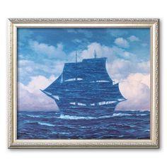 Art.com Le Seducteur Framed Art Print by Rene Magritte, Multicolor