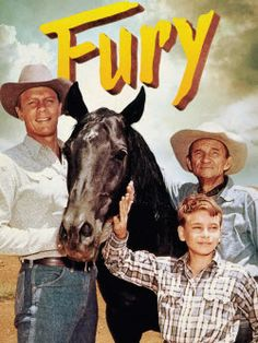 """FURY!..The story of a horse..and a boy who loves him.""  (1955 - 1960)    /  Awesome show EL."