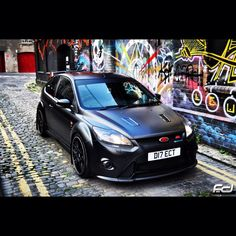 Ford Focus RS Optimus Edition when i was selling FORD cars the RS and were top cars if you would like one and dont how Ford 2000, Ford Rs, Car Ford, Us Cars, Sport Cars, Parkour, Ford Focus 2, Ford Escort, Ford Motor Company
