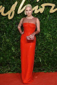 British Fashion Awards Lady Gaga