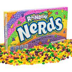 Лучшие ароматы и вкусы природы собраны в одной коробке.Знаменитые конфеты драже Nerd - это любимый бренд и успешные... Unicorn Puke, Snack Recipes, Snacks, Pop Tarts, Chips, Nerd, Rainbow, Sugar, Candy