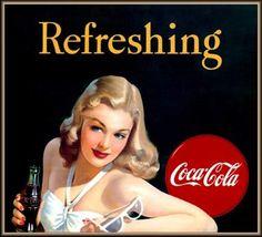 Illustrations vintage Coca Cola