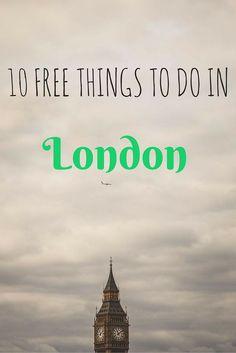 10 ACTUALLY free things to do in London - Anita Hendrieka