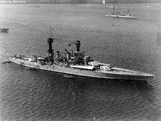 BB-48 USS West Virginia - Colorado-class battleship