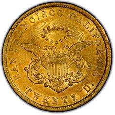 Territorial Gold San Francisco 20 Dollar