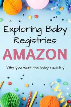 Everything you wanted to know about Amazon baby registry; including step-by-step instructions on how you can add gifts from ANYWHERE online (not just Amazon!) #babyregistry #momtobe #babyshower Getting Ready For Baby, Amazon Baby, Baby Box, Baby Announcements, How Big Is Baby, Welcome Baby, Amazon Gifts, Baby Online, Baby Registry