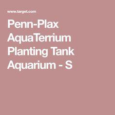 Penn-Plax AquaTerrium Planting Tank Aquarium - S