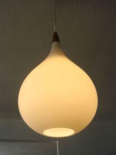 Rare and elegant Mid Century Modern Pendant Lamp by MUNICHMODERN