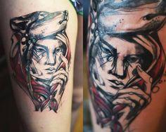 Redberry Tattoo Studio Wrocław #tattoo #inked #ink #studio #wroclaw #warszawa #tatuaz #dresden #redberry #katowice #dzolama #redberrytattoostudio #amaizingtattoo #poland #abstract #avantgarden czerwonykapturek #wilk #wolf #berlin #cottbus