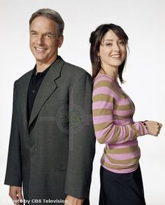 Gibbs and Kate - He was young & Kate was really slim. She still looks great.