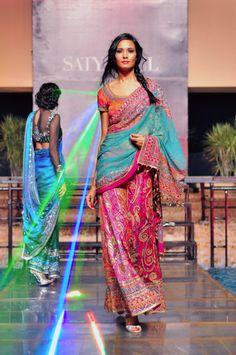 I really should start wearing saris again...