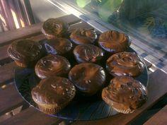 Snickers-muffinssi. Reseptin teki Kotikokki.netin nimimerkki Silke