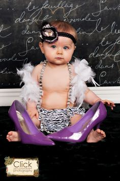 1st birthday photo shoot...@Carmel Allen Clayton bring your heels!!