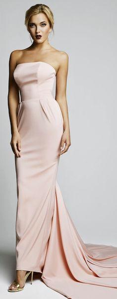 The Millionairess of Pennsylvania:  Pale pink gown is stunning!!  Hamda Al Fahim 2014